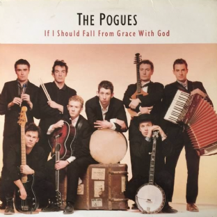 Pogues (The) ‎- If I Should Fall From Grace With God (LP) (G-VG/VG)